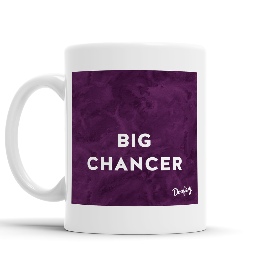 Big Chancer Scottish Dialect Mug Mugs Scotland Scottish Scots Gift Ideas Souvenir Present Highland Tartan Personalised Patter Banter Slogan Pure Premium Dialect Glasgow Edinburgh Doofery