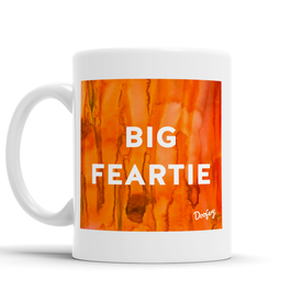 Big Feartie Scottish Dialect Mug Mugs Scotland Scottish Scots Gift Ideas Souvenir Present Highland Tartan Personalised Patter Banter Slogan Pure Premium Dialect Glasgow Edinburgh Doofery