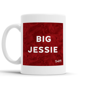 Big Jessie Scottish Dialect Mug Mugs Scotland Scottish Scots Gift Ideas Souvenir Present Highland Tartan Personalised Patter Banter Slogan Pure Premium Dialect Glasgow Edinburgh Doofery