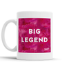 Big Legend Scottish Dialect Mug Mugs Scotland Scottish Scots Gift Ideas Souvenir Present Highland Tartan Personalised Patter Banter Slogan Pure Premium Dialect Glasgow Edinburgh Doofery