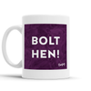 Bolt Hen Scottish Dialect Mug Mugs Scotland Scottish Scots Gift Ideas Souvenir Present Highland Tartan Personalised Patter Banter Slogan Pure Premium Dialect Glasgow Edinburgh Doofery