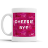 Cheerie Bye Scottish Dialect Mug Mugs Scotland Scottish Scots Gift Ideas Souvenir Present Highland Tartan Personalised Patter Banter Slogan Pure Premium Dialect Glasgow Edinburgh Doofery
