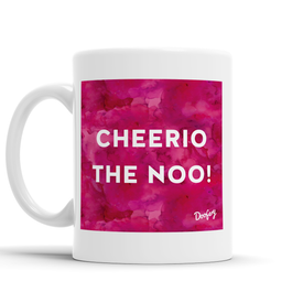 Cheerio The Noo Scottish Dialect Mug Mugs Scotland Scottish Scots Gift Ideas Souvenir Present Highland Tartan Personalised Patter Banter Slogan Pure Premium Dialect Glasgow Edinburgh Doofery