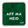 Aff Ma Heid Scottish Dialect Coaster Coasters Scotland Scottish Scots Gift Ideas Souvenir Present Highland Tartan Personalised Patter Banter Slogan Pure Premium Dialect Glasgow Edinburgh Doofery
