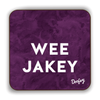 Wee Jakey Scottish Dialect Coaster Coasters Scotland Scottish Scots Gift Ideas Souvenir Present Highland Tartan Personalised Patter Banter Slogan Pure Premium Dialect Glasgow Edinburgh Doofery