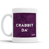 Crabbit Da' Scottish Dialect Mug Mugs Scotland Scottish Scots Gift Ideas Souvenir Present Highland Tartan Personalised Patter Banter Slogan Pure Premium Dialect Glasgow Edinburgh Doofery