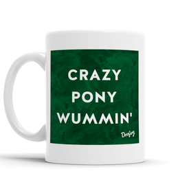 Crazy Pony Wummin' Scottish Dialect Mug Mugs Scotland Scottish Scots Gift Ideas Souvenir Present Highland Tartan Personalised Patter Banter Slogan Pure Premium Dialect Glasgow Edinburgh Doofery