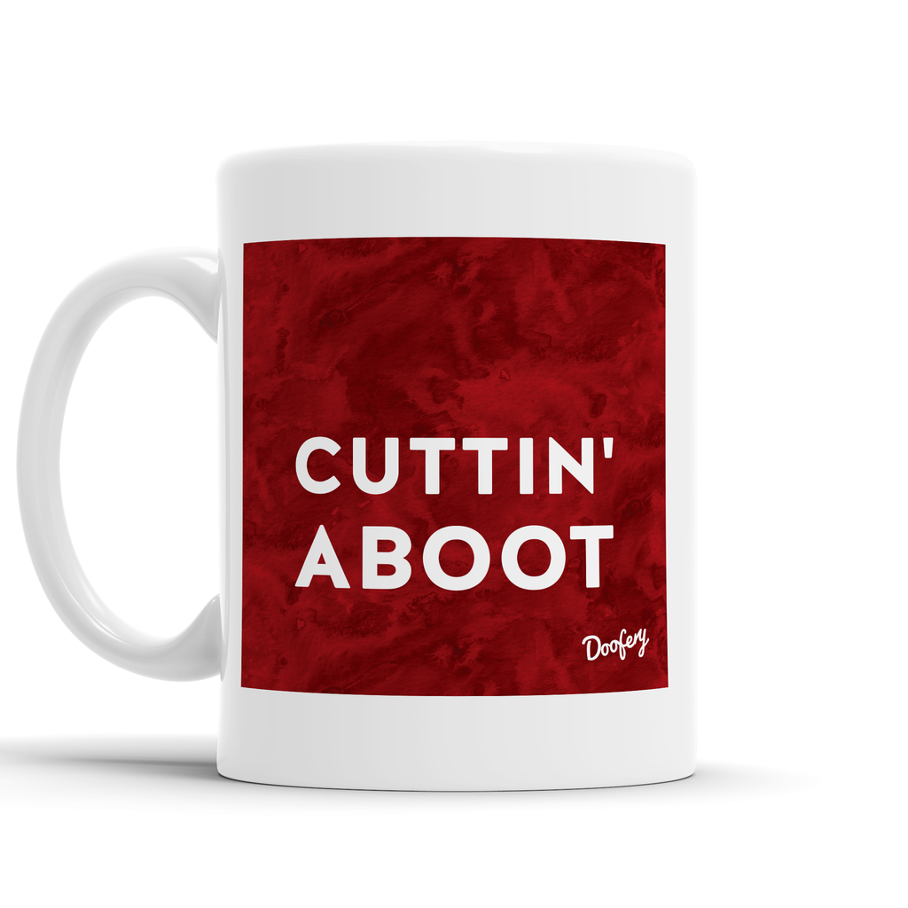 Cuttin Aboot Scottish Dialect Mug Mugs Scotland Scottish Scots Gift Ideas Souvenir Present Highland Tartan Personalised Patter Banter Slogan Pure Premium Dialect Glasgow Edinburgh Doofery