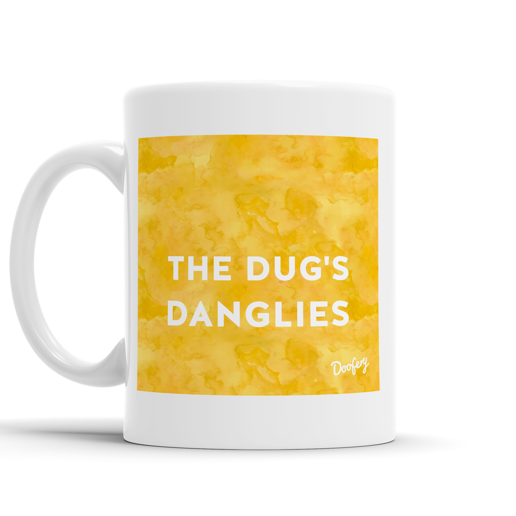 The Dugs Danglies Scottish Dialect Mug Mugs Scotland Scottish Scots Gift Ideas Souvenir Present Highland Tartan Personalised Patter Banter Slogan Pure Premium Dialect Glasgow Edinburgh Doofery