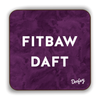Fitbaw Daft Scottish Dialect Coaster Coasters Scotland Scottish Scots Gift Ideas Souvenir Present Highland Tartan Personalised Patter Banter Slogan Pure Premium Dialect Glasgow Edinburgh Doofery