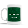 Get Intae Them Scottish Dialect Mug Mugs Scotland Scottish Scots Gift Ideas Souvenir Present Highland Tartan Personalised Patter Banter Slogan Pure Premium Dialect Glasgow Edinburgh Doofery