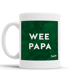 Wee Papa Scottish Dialect Mug Mugs Scotland Scottish Scots Gift Ideas Souvenir Present Highland Tartan Personalised Patter Banter Slogan Pure Premium Dialect Glasgow Edinburgh Doofery