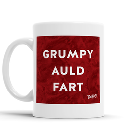 Grumpy Auld Fart Scottish Dialect Mug Mugs Scotland Scottish Scots Gift Ideas Souvenir Present Highland Tartan Personalised Patter Banter Slogan Pure Premium Dialect Glasgow Edinburgh Doofery