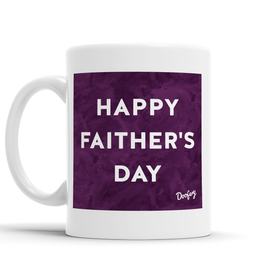 Happy Faither's Day Scottish Dialect Mug Mugs Scotland Scottish Scots Gift Ideas Souvenir Present Highland Tartan Personalised Patter Banter Slogan Pure Premium Dialect Glasgow Edinburgh Doofery