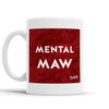 Mental Maw Scottish Dialect Mug Mugs Scotland Scottish Scots Gift Ideas Souvenir Present Highland Tartan Personalised Patter Banter Slogan Pure Premium Dialect Glasgow Edinburgh Doofery