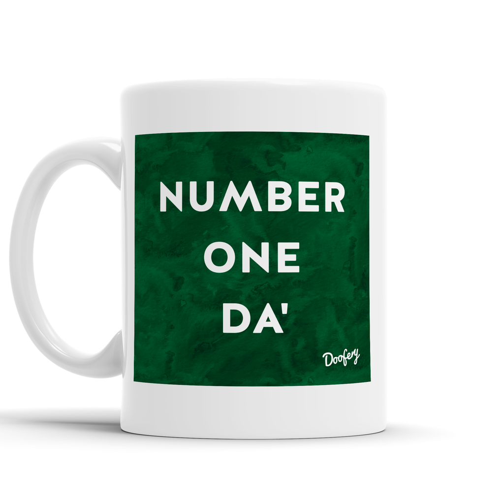 Number One Da' Scottish Dialect Mug Mugs Scotland Scottish Scots Gift Ideas Souvenir Present Highland Tartan Personalised Patter Banter Slogan Pure Premium Dialect Glasgow Edinburgh Doofery