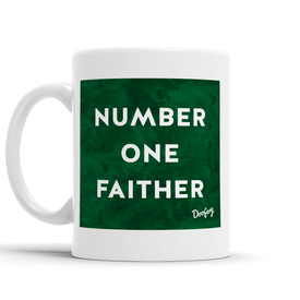 Number One Faither Scottish Dialect Mug Mugs Scotland Scottish Scots Gift Ideas Souvenir Present Highland Tartan Personalised Patter Banter Slogan Pure Premium Dialect Glasgow Edinburgh Doofery
