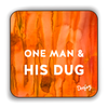 One Man and his Dug Scottish Dialect Coaster Coasters Scotland Scottish Scots Gift Ideas Souvenir Present Highland Tartan Personalised Patter Banter Slogan Pure Premium Dialect Glasgow Edinburgh Doofery