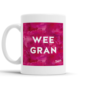 Wee Gran Scottish Dialect Mug Mugs Scotland Scottish Scots Gift Ideas Souvenir Present Highland Tartan Personalised Patter Banter Slogan Pure Premium Dialect Glasgow Edinburgh Doofery