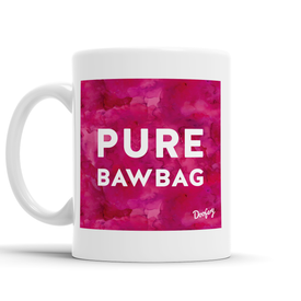 Pure Bawbag Scottish Dialect Mug Mugs Scotland Scottish Scots Gift Ideas Souvenir Present Highland Tartan Personalised Patter Banter Slogan Pure Premium Dialect Glasgow Edinburgh Doofery