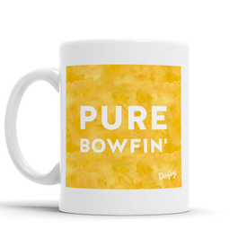 Pure Bowfin' Scottish Dialect Mug Mugs Scotland Scottish Scots Gift Ideas Souvenir Present Highland Tartan Personalised Patter Banter Slogan Pure Premium Dialect Glasgow Edinburgh Doofery