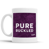 Pure Buckled Scottish Dialect Mug Mugs Scotland Scottish Scots Gift Ideas Souvenir Present Highland Tartan Personalised Patter Banter Slogan Pure Premium Dialect Glasgow Edinburgh Doofery