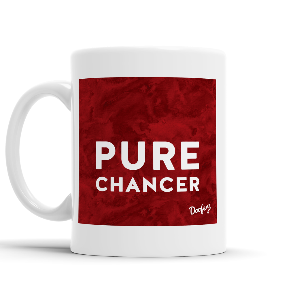 Pure Chancer Scottish Dialect Mug Mugs Scotland Scottish Scots Gift Ideas Souvenir Present Highland Tartan Personalised Patter Banter Slogan Pure Premium Dialect Glasgow Edinburgh Doofery