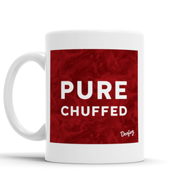 Pure Chuffed Scottish Dialect Mug Mugs Scotland Scottish Scots Gift Ideas Souvenir Present Highland Tartan Personalised Patter Banter Slogan Pure Premium Dialect Glasgow Edinburgh Doofery