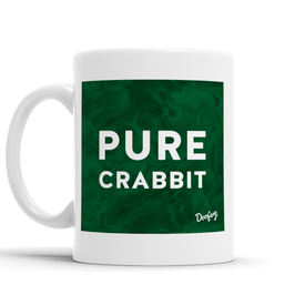 Pure Crabbit Scottish Dialect Mug Mugs Scotland Scottish Scots Gift Ideas Souvenir Present Highland Tartan Personalised Patter Banter Slogan Pure Premium Dialect Glasgow Edinburgh Doofery