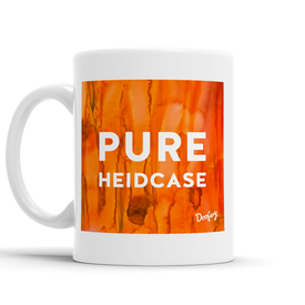 Pure Heidcase Scottish Dialect Mug Mugs Scotland Scottish Scots Gift Ideas Souvenir Present Highland Tartan Personalised Patter Banter Slogan Pure Premium Dialect Glasgow Edinburgh Doofery