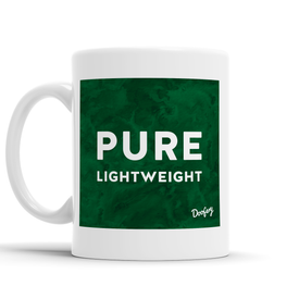 Pure Lightweight Scottish Dialect Mug Mugs Scotland Scottish Scots Gift Ideas Souvenir Present Highland Tartan Personalised Patter Banter Slogan Pure Premium Dialect Glasgow Edinburgh Doofery