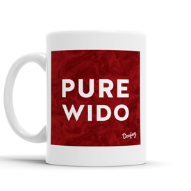 Pure Wido Scottish Dialect Mug Mugs Scotland Scottish Scots Gift Ideas Souvenir Present Highland Tartan Personalised Patter Banter Slogan Pure Premium Dialect Glasgow Edinburgh Doofery