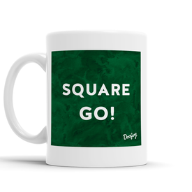 Square Go Scottish Dialect Mug Mugs Scotland Scottish Scots Gift Ideas Souvenir Present Highland Tartan Personalised Patter Banter Slogan Pure Premium Dialect Glasgow Edinburgh Doofery