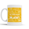 Up The Road Maw Scottish Dialect Mug Mugs Scotland Scottish Scots Gift Ideas Souvenir Present Highland Tartan Personalised Patter Banter Slogan Pure Premium Dialect Glasgow Edinburgh Doofery