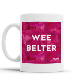 Wee Belter Scottish Dialect Mug Mugs Scotland Scottish Scots Gift Ideas Souvenir Present Highland Tartan Personalised Patter Banter Slogan Pure Premium Dialect Glasgow Edinburgh Doofery