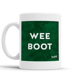 Wee Boot Scottish Dialect Mug Mugs Scotland Scottish Scots Gift Ideas Souvenir Present Highland Tartan Personalised Patter Banter Slogan Pure Premium Dialect Glasgow Edinburgh Doofery
