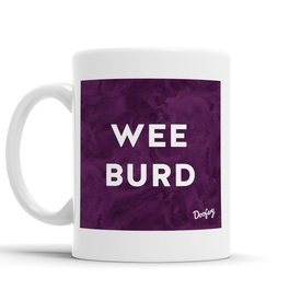 Wee Burd Scottish Dialect Mug Mugs Scotland Scottish Scots Gift Ideas Souvenir Present Highland Tartan Personalised Patter Banter Slogan Pure Premium Dialect Glasgow Edinburgh Doofery