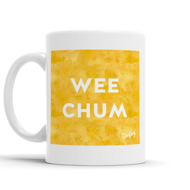 Wee Chum Scottish Dialect Mug Mugs Scotland Scottish Scots Gift Ideas Souvenir Present Highland Tartan Personalised Patter Banter Slogan Pure Premium Dialect Glasgow Edinburgh Doofery