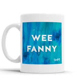 Wee Fanny Scottish Dialect Mug Mugs Scotland Scottish Scots Gift Ideas Souvenir Present Highland Tartan Personalised Patter Banter Slogan Pure Premium Dialect Glasgow Edinburgh Doofery
