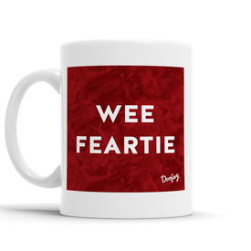 Wee Feartie Scottish Dialect Mug Mugs Scotland Scottish Scots Gift Ideas Souvenir Present Highland Tartan Personalised Patter Banter Slogan Pure Premium Dialect Glasgow Edinburgh Doofery
