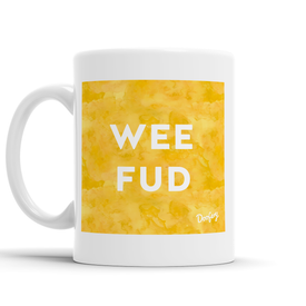 Wee Fud Scottish Dialect Mug Mugs Scotland Scottish Scots Gift Ideas Souvenir Present Highland Tartan Personalised Patter Banter Slogan Pure Premium Dialect Glasgow Edinburgh Doofery