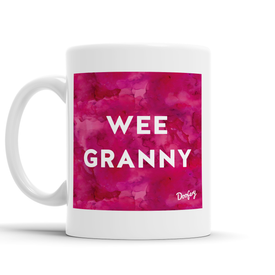 Wee Granny Scottish Dialect Mug Mugs Scotland Scottish Scots Gift Ideas Souvenir Present Highland Tartan Personalised Patter Banter Slogan Pure Premium Dialect Glasgow Edinburgh Doofery