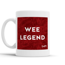 Wee Legend Scottish Dialect Mug Mugs Scotland Scottish Scots Gift Ideas Souvenir Present Highland Tartan Personalised Patter Banter Slogan Pure Premium Dialect Glasgow Edinburgh Doofery