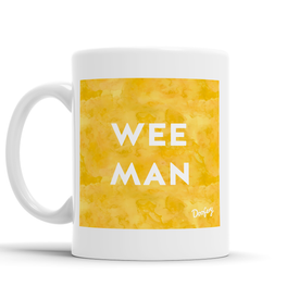 Wee Man Scottish Dialect Mug Mugs Scotland Scottish Scots Gift Ideas Souvenir Present Highland Tartan Personalised Patter Banter Slogan Pure Premium Dialect Glasgow Edinburgh Doofery