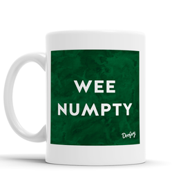 Wee Numpty Scottish Dialect Mug Mugs Scotland Scottish Scots Gift Ideas Souvenir Present Highland Tartan Personalised Patter Banter Slogan Pure Premium Dialect Glasgow Edinburgh Doofery