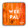 Wee Pal Scottish Dialect Coaster Coasters Scotland Scottish Scots Gift Ideas Souvenir Present Highland Tartan Personalised Patter Banter Slogan Pure Premium Dialect Glasgow Edinburgh Doofery