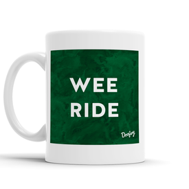 Wee Ride Scottish Dialect Mug Mugs Scotland Scottish Scots Gift Ideas Souvenir Present Highland Tartan Personalised Patter Banter Slogan Pure Premium Dialect Glasgow Edinburgh Doofery