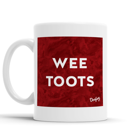 Wee Toots Scottish Dialect Mug Mugs Scotland Scottish Scots Gift Ideas Souvenir Present Highland Tartan Personalised Patter Banter Slogan Pure Premium Dialect Glasgow Edinburgh Doofery