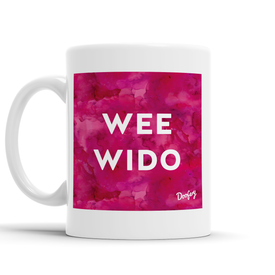 Wee Wido Scottish Dialect Mug Mugs Scotland Scottish Scots Gift Ideas Souvenir Present Highland Tartan Personalised Patter Banter Slogan Pure Premium Dialect Glasgow Edinburgh Doofery