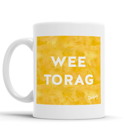 Wee Torag Scottish Dialect Mug Mugs Scotland Scottish Scots Gift Ideas Souvenir Present Highland Tartan Personalised Patter Banter Slogan Pure Premium Dialect Glasgow Edinburgh Doofery